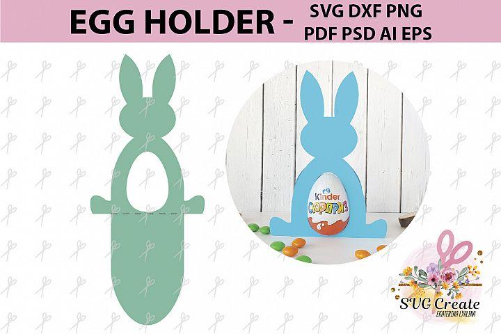 Kinder surprise egg holder, svg cutting file template