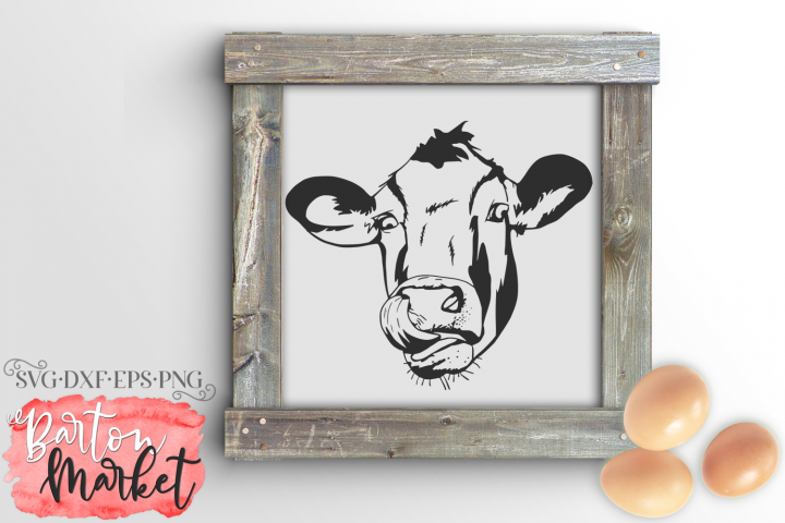 Silly Cow SVG DXF EPS PNG