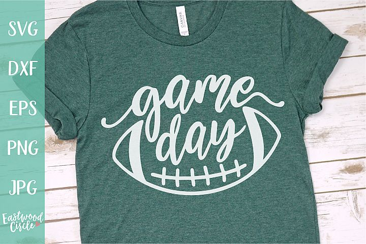 Game Day - Football SVG File for Crafters