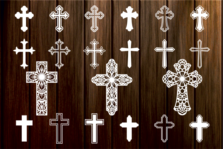 Cross SVG, Crosses Clipart, Christian Svg Files