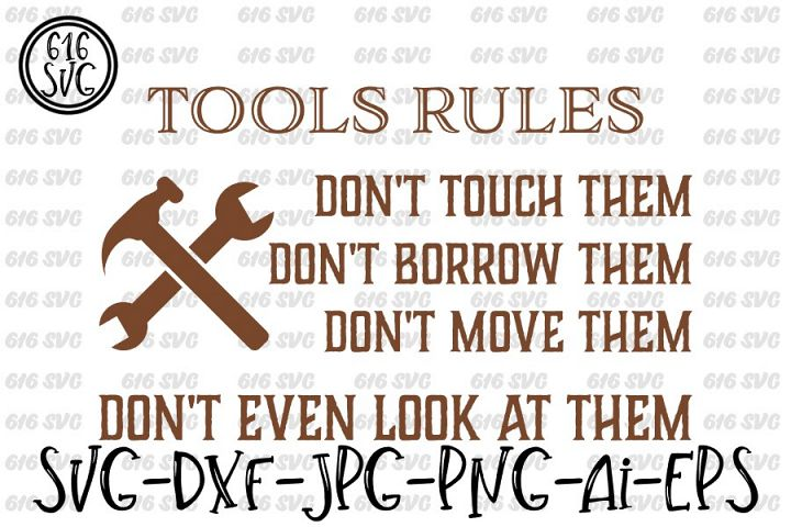 Tools Rules SVG, DXF, Ai, PNG