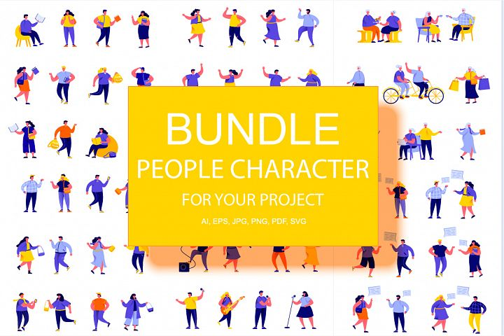 Bundle People Character Creator Kit