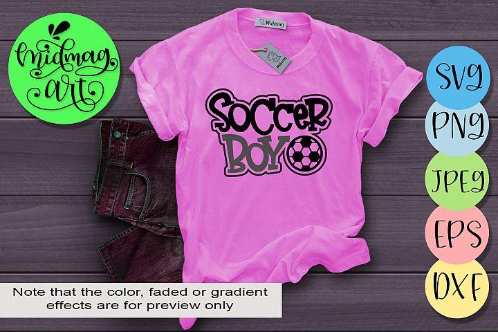 Soccer boy svg, soccer life svg