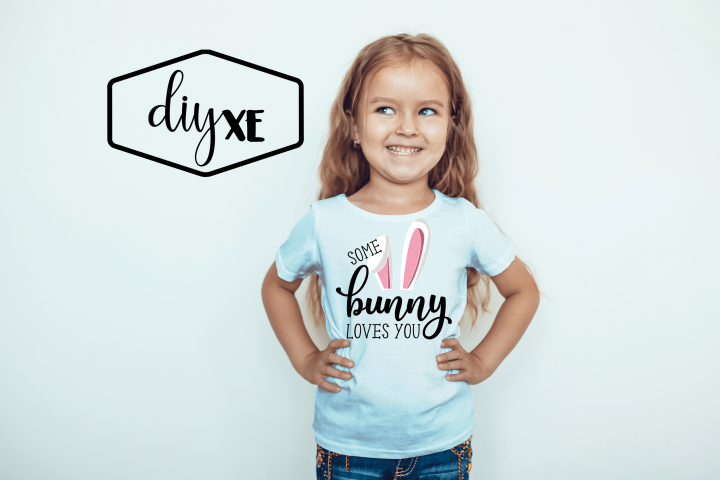 Some Bunny Loves You - Easter Sublimation Graphic