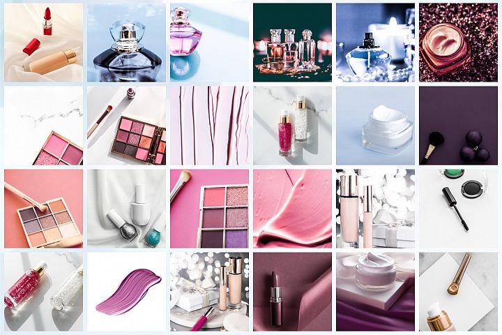 50 Images | Beauty & Make-Up Stock Photo Bundle #1