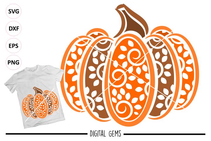 Pumpkin SVG / PNG / EPS / DXF files