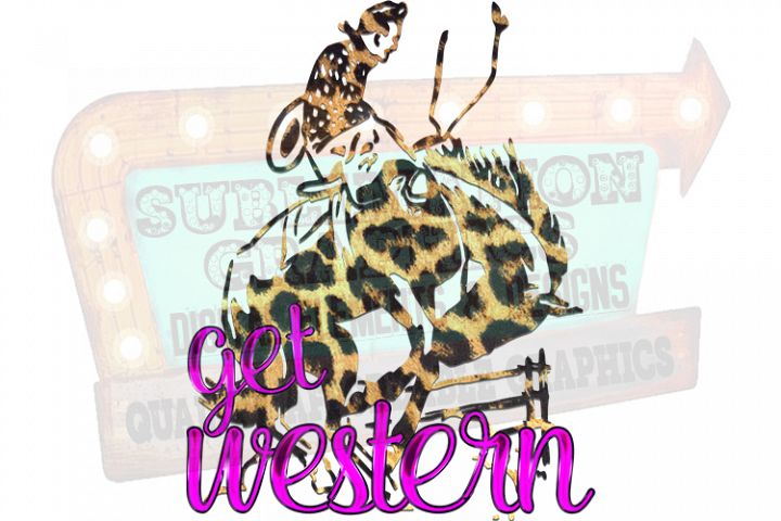 Get Western Sublimation Digital Download