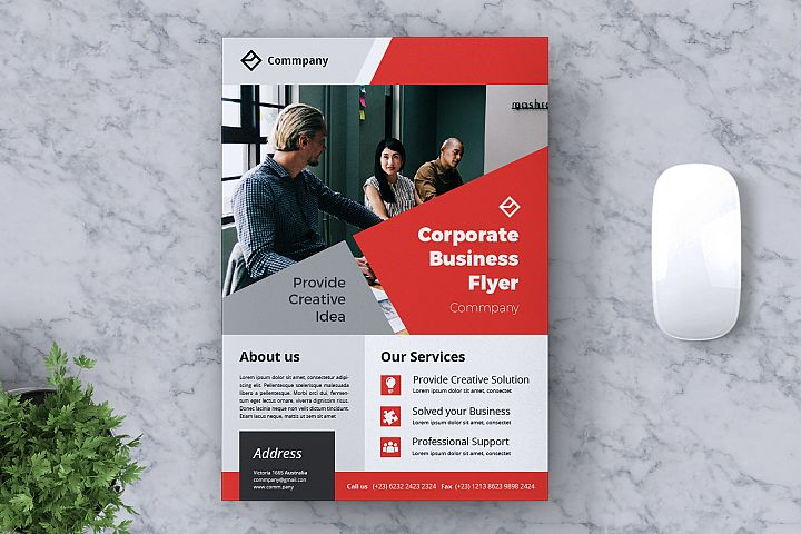 Corporate Business Flyer Vol. 10