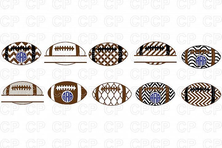 Football Bundle SVG Cut Files, Football Clipart