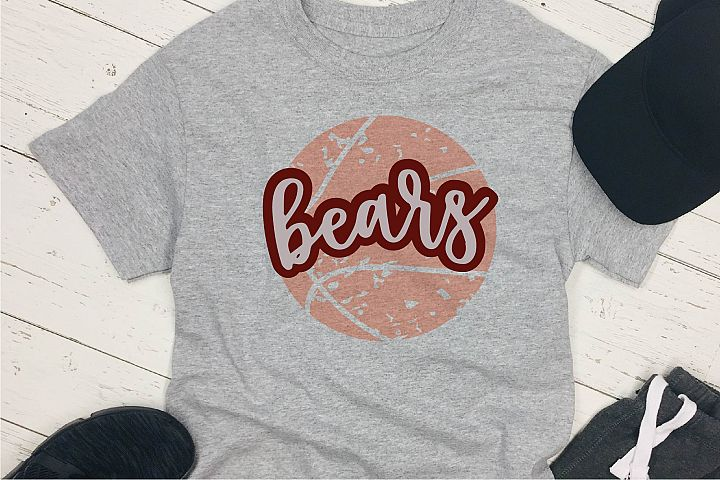 Sports SVG, Bears Basketball SVG, Sports Sublimation