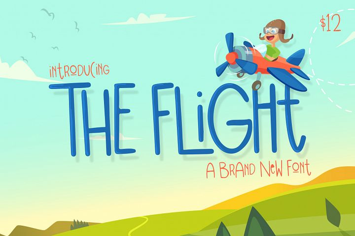 The Flight Font