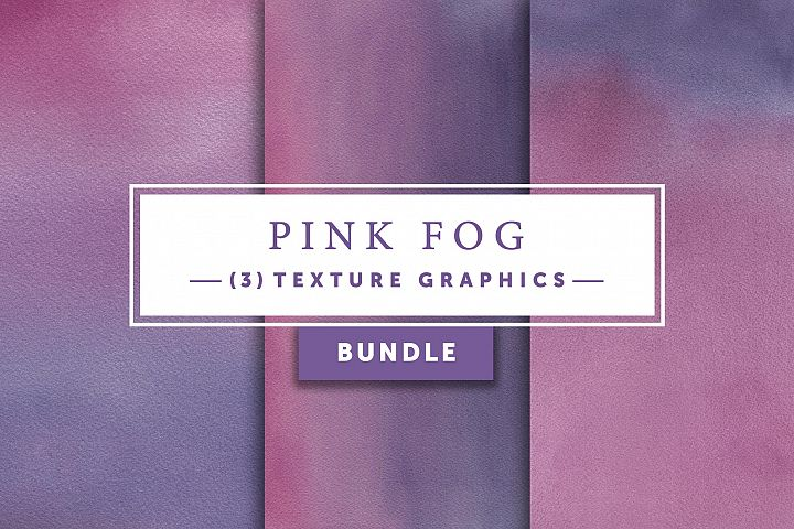Pink Fog Bundle | Texture Graphics