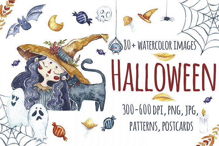 Watercolor Halloween