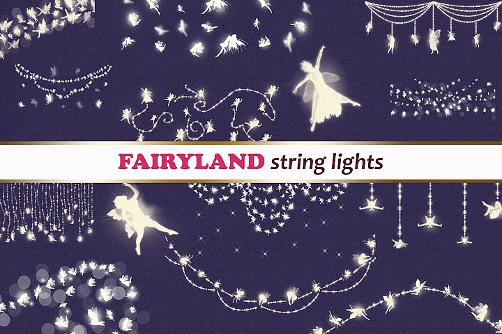 String lights FAIRYLAND