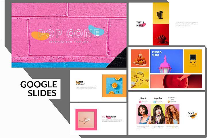 Pop Cone - Google Slides Presentation