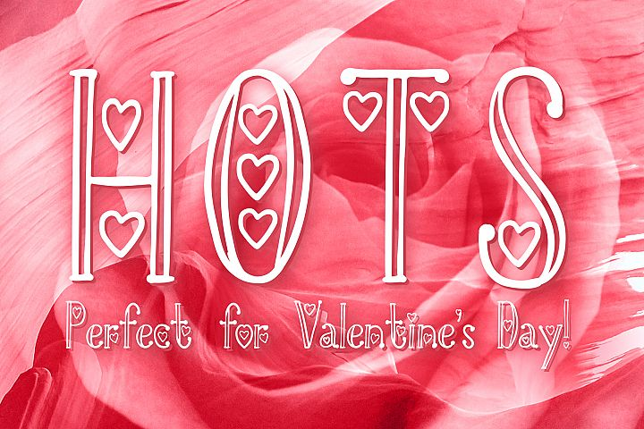 HOTS - Perfect Valentines Day Font