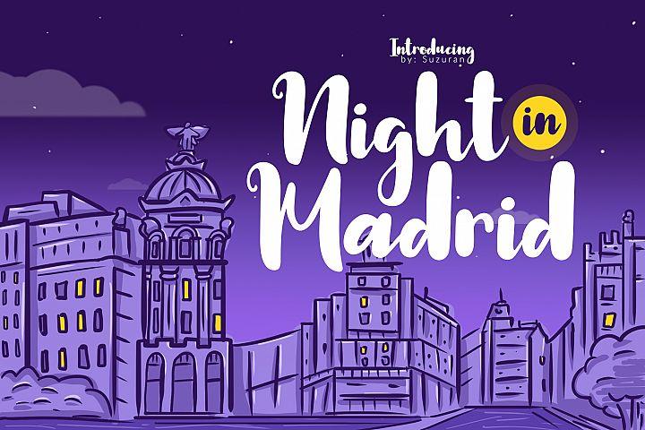 Night in Madrid