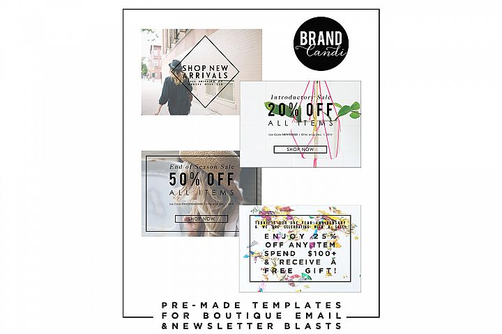 Boutique Marketing Templates