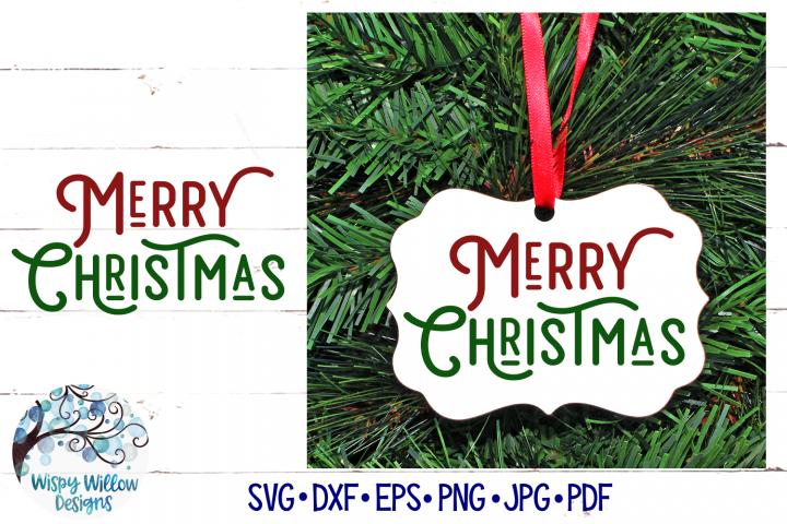 Merry Christmas SVG   Retro Christmas SVG File