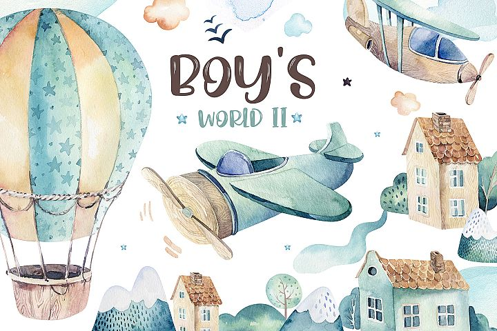 Boys collection II. In the sky!