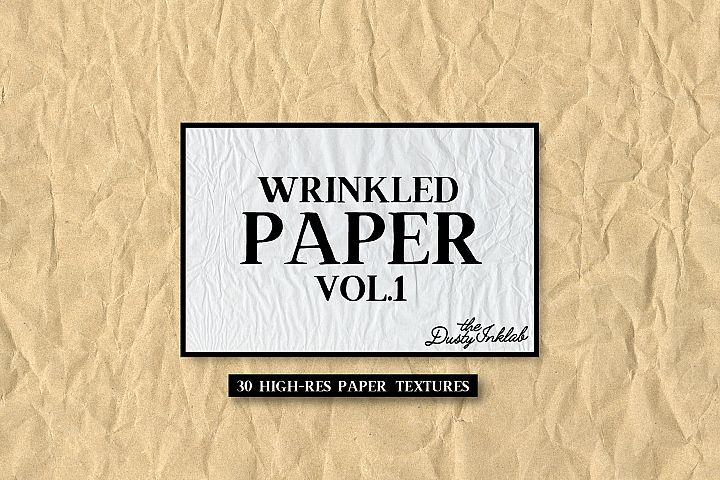 Wrinkled Paper Vol. 1