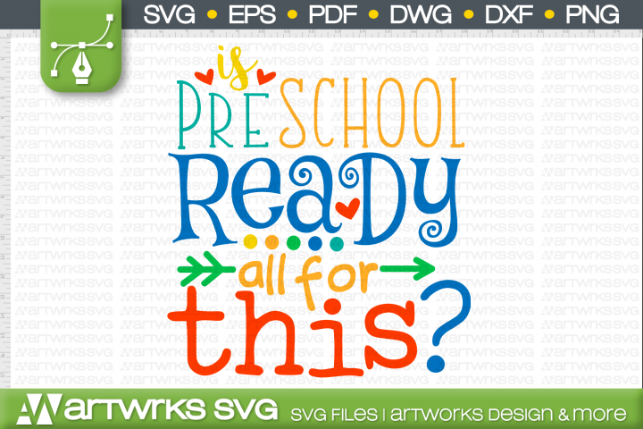 School SVG files for Cricut | Preschool Ready for All This