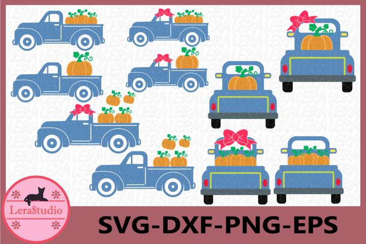 Pumpkin SVG, Truck Svg, Truck Pumpkin svg, Cricut Cut files