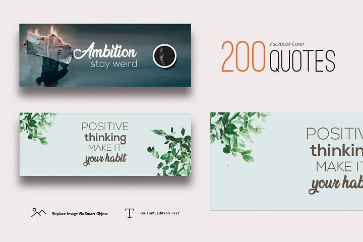 200 Facebook Cover Quotes