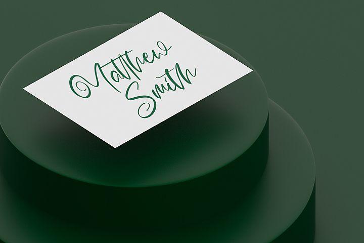 Calligrapher | Modern Script Font example image 7