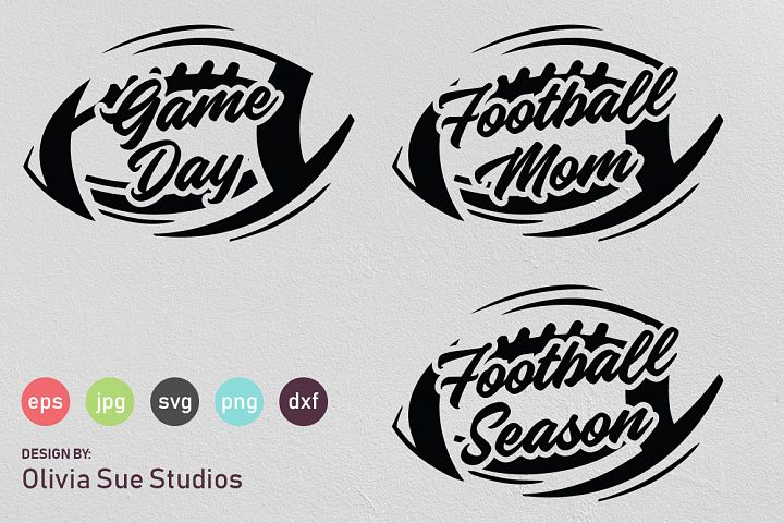 Football Superbowl Shirts SVG Cut File