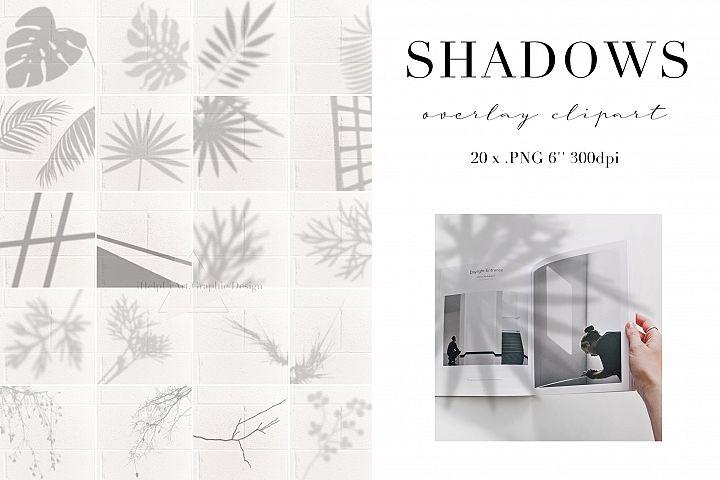 Realistic Shadow Clipart - Shadows Photo Overlays