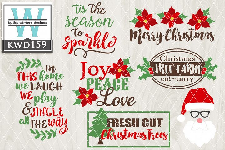 Christmas SVG - Christmas Bundle KWD159