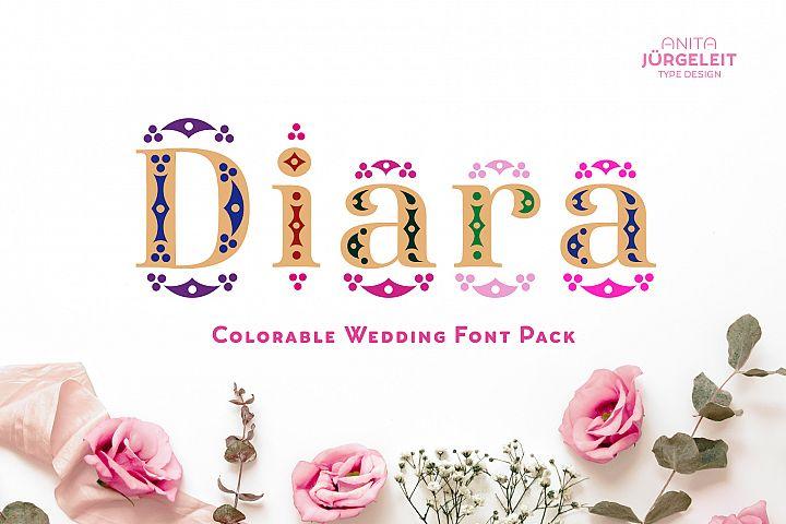 Diara Wedding Font