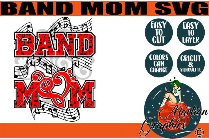 Band Mom Svg