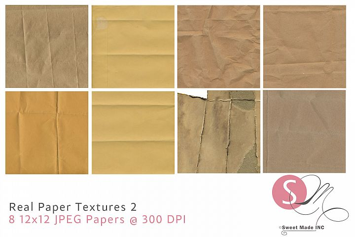 Real Paper Textures 2