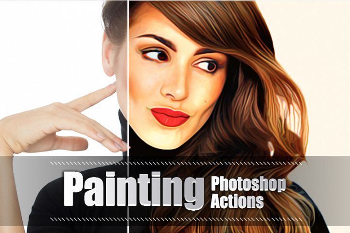 22 Painting Photoshop Actions