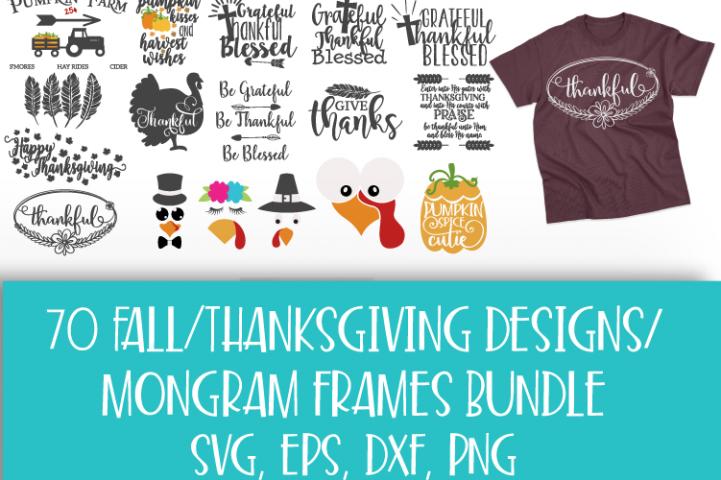 Fall, Pumpkin, Halloween, SVG, PNG, Thanksgiving Bundle, example 2