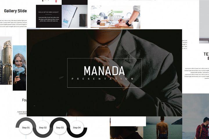 Manada MNML Powerpoint Template
