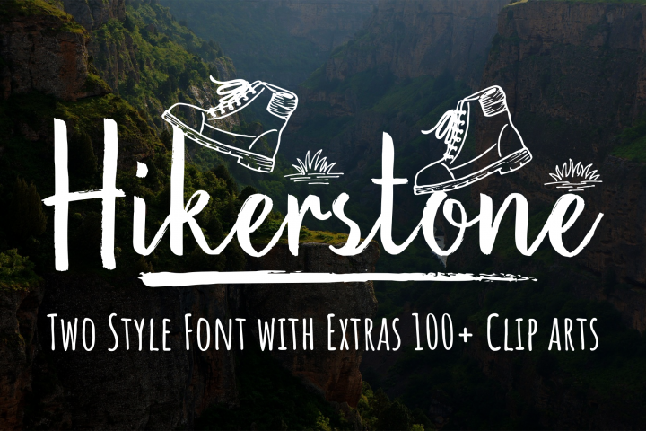 Hikerstone & 100 Extra Cliparts