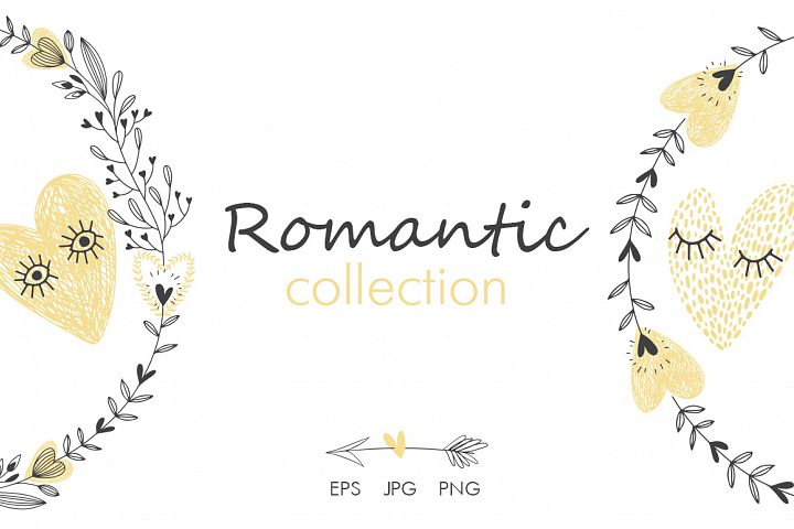 Romantic collection.