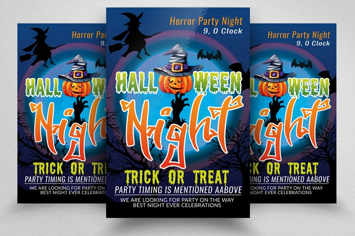 Halloween Horror Night Flyer / Poster