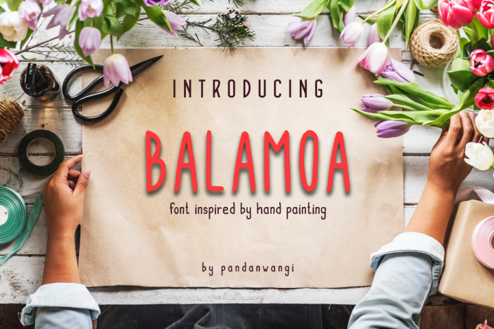 Balamoa - Hand Painting