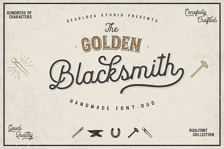 The Golden Blacksmith Special Offer