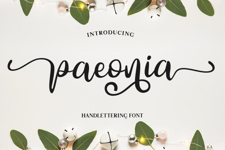 Paeonia script