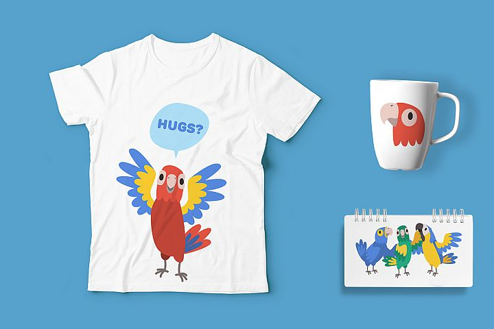 Parrot Bundle example 1