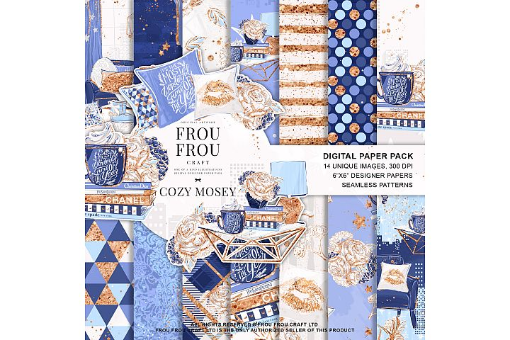 Winter Cozy Fashion Home Holiday Paper Pack