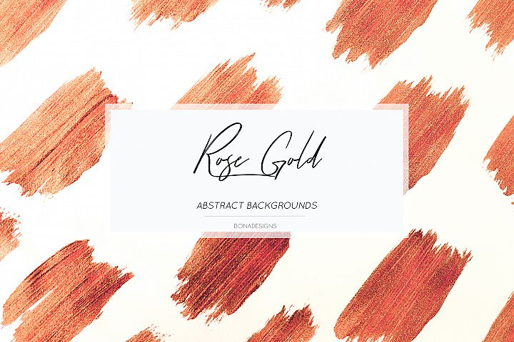 Rose Gold Backgrounds, Weddinng invitation papers