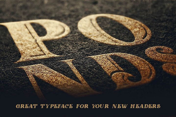 Ponds Typeface example image 7