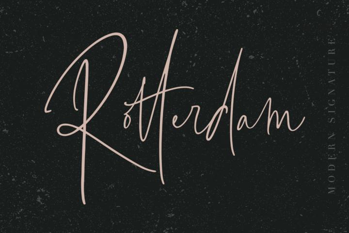 Rotterdam - Modern Signature