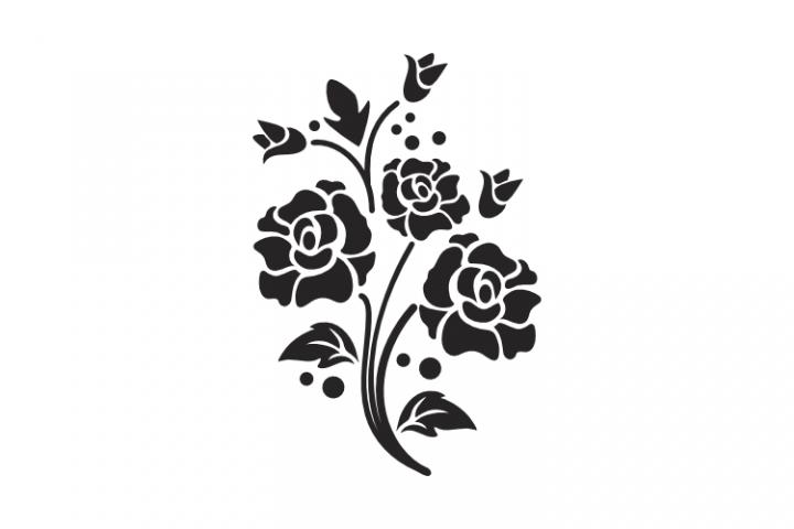 Flower Image SVG EPS PNG File